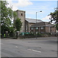 SO1409 : St George's Church and Vicarage, Tredegar by Jaggery