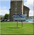 SO1409 : Welcome to St George's Church Tredegar by Jaggery