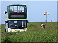 TV5995 : Eastbourne Sightseeing Bus at Beachy Head by PAUL FARMER