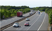 TL4157 : Towards junction 12 of the M11 motorway by Mat Fascione