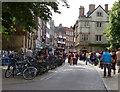 TL4458 : St John's Street in Cambridge by Mat Fascione