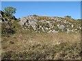 NM6668 : Rock outcrops by Jonathan Wilkins