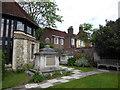 TQ2276 : St Mary, Barnes: churchyard (e) by Basher Eyre