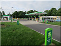 TL4959 : New BP petrol station by Hugh Venables