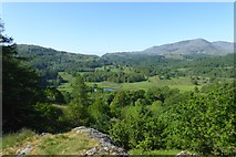 NY3404 : View from Neaum Crag by DS Pugh