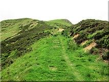 NO1805 : Path to Bishop Hill, Lomond Hills by Bill Kasman