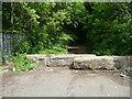 SE0826 : Road block, Lee Bank, Halifax by Humphrey Bolton