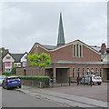 SK5837 : West Bridgford: Holy Spirit Roman Catholic Church by John Sutton