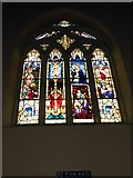 TQ2075 : St Mary Magdalen R.C. Church, Mortlake: stained glass window (d) by Basher Eyre