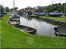 TG4022 : Parish Dyke, Hickling Staithe by G Laird