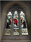 TQ2075 : St Mary Magdalen R.C. Church, Mortlake: stained glass window (h) by Basher Eyre