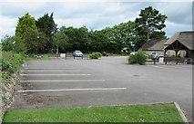 ST9898 : Thames Head Inn car park near Cirencester by Jaggery