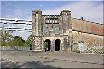 SH5571 : Menai Suspension Bridge Southern Anchor House by Jeff Buck