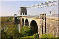 SH5571 : The Menai Suspension Bridge by Jeff Buck