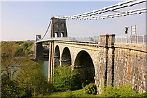 SH5571 : The Menai Suspension Bridge by Jeff Buck