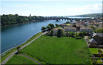 NT9953 : Tweedmouth and the River Tweed by Thomas Nugent