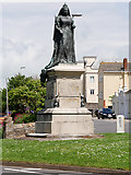SY6879 : Queen Victoria Statue, Weymouth by David Dixon