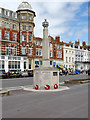 SY6879 : Rangers War Memorial, Weymouth Esplanade by David Dixon