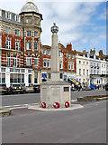 SY6879 : Rangers War Memorial, Weymouth Esplanade by David Dixon