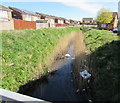 ST3486 : East along Little Spitty Reen, Liswerry, Newport by Jaggery