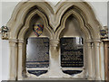 TF1590 : Memorial, All Saints' church, Tealby by Julian P Guffogg