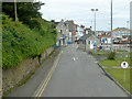 SY6874 : Portland Port Road Entrance/Exit by David Dixon