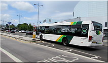 ST3188 : Commercial Driver Training Centre bus, Kingsway, Newport by Jaggery