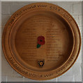 SE7772 : Malton School War Memorial Plaque by Ian S