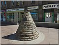 NS4863 : Cairn for Willie Gallacher by Lairich Rig