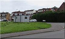 ST3090 : Temporary polling station, Alder Grove, Malpas, Newport by Jaggery