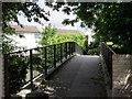 TQ3663 : Footbridge Over Pixton Way by Peter Trimming