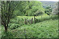 SO1806 : Gate in Silent Valley Local Nature Reserve by M J Roscoe