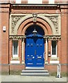 SK5739 : Entrance to the former Congregational Church Hall by Alan Murray-Rust