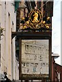 SJ8598 : Sign of the Bank of England (West facing) by Gerald England