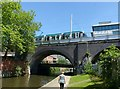 SK5739 : Tram crossing the canal by Alan Murray-Rust