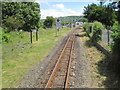 SN5980 : Llanbadarn railway station, Ceredigion by Nigel Thompson