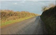SX0271 : Lane to Trevilder by Derek Harper