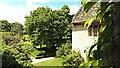 SU2598 : View west from Kelmscott Manor, Oxfordshire by Brian Robert Marshall