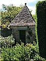 SU2598 : Outdoor privy, Kelmscott Manor, Oxfordshire by Brian Robert Marshall