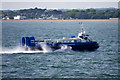 SZ6197 : Hovercraft Crossing the Solent by David Dixon