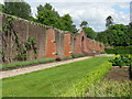 NS1060 : Garden wall at Mount Stuart by M J Richardson