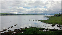 NH5658 : The head of the Cromarty Firth from Dingwall by Julian Paren
