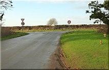 SX0877 : T junction on the B3266 by Derek Harper