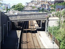 SX9473 : Teignmouth Railway Station [1] by Michael Dibb