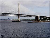NT1279 : Forth Road Bridge, North Queensferry by David Dixon