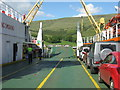 NS0374 : Colintraive from the ferry by M J Richardson