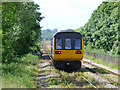 NZ2624 : Train leaving Newton Aycliffe station by Thomas Nugent