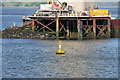 NT1279 : Queensferry Crossing, Beamer Rock by David Dixon