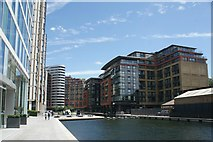TQ2681 : View of blocks of flats in the Paddington Basin #2 by Robert Lamb