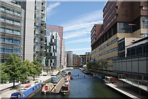 TQ2681 : View of blocks of flats in the Paddington Basin #5 by Robert Lamb